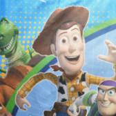 Седалка за кола Toy Story 15-36 кг.  61175 4