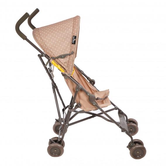Детска количка light beige & yellow happy family Lorelli 61437 4