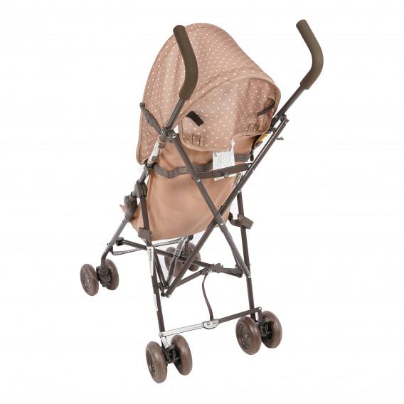 Детска количка light beige & yellow happy family Lorelli 61438 5
