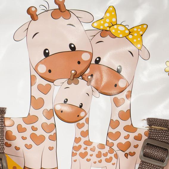 Детска количка light beige & yellow happy family Lorelli 61442 9