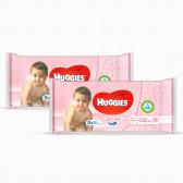 Мокри кърпи soft skin, 2 пакета на цената на 1 Huggies 61446
