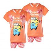 Памучни пижами за момиче  2 броя на цената на 1 KIABI 61453