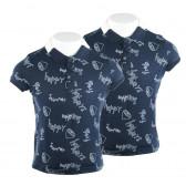 Памучни тениски за момче 2 броя на цената на 1 KIABI 61455