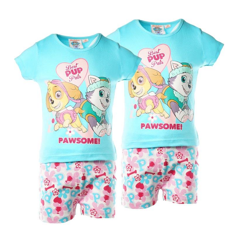 Памучни пижами за момиче 2 броя на цената на 1  61456