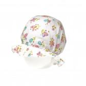 Памучна лятна шапка за момиче Benetton 62261