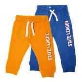 2 броя спортен панталон за бебе момче Chicco 63701