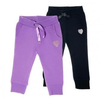 2 броя спортен памучен панталон за момиче на цената на един Chicco 63704