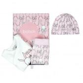 Памучен комплект за бебе от 3 части Boboli 64