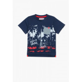 Памучна тениска за момче Boboli 64850