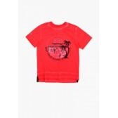 Памучна тениска за момче Boboli 64853