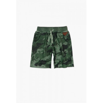 Къси панталони с камуфлажна шарка Boboli 64877