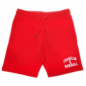 къси памучни панталони за момче Franklin & Marshall 64977