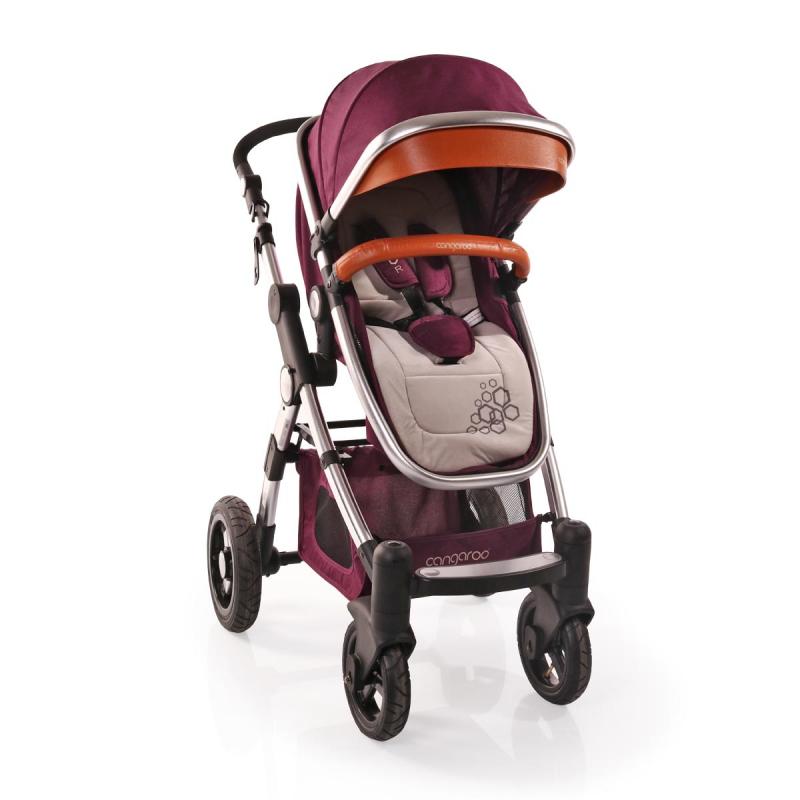 Комбинирана детска количка Luxor 2 в 1, лилава  6590