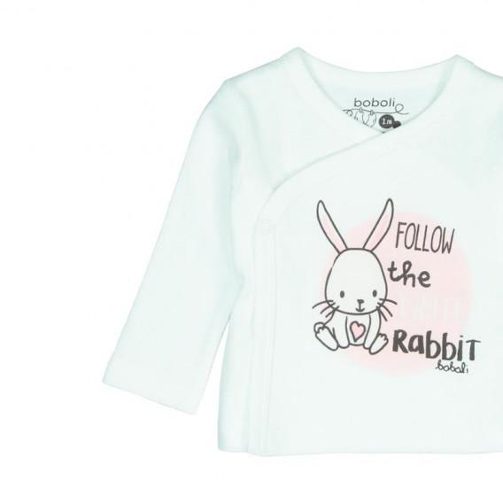Памучен комплект за бебе от 3 части Boboli 66 3