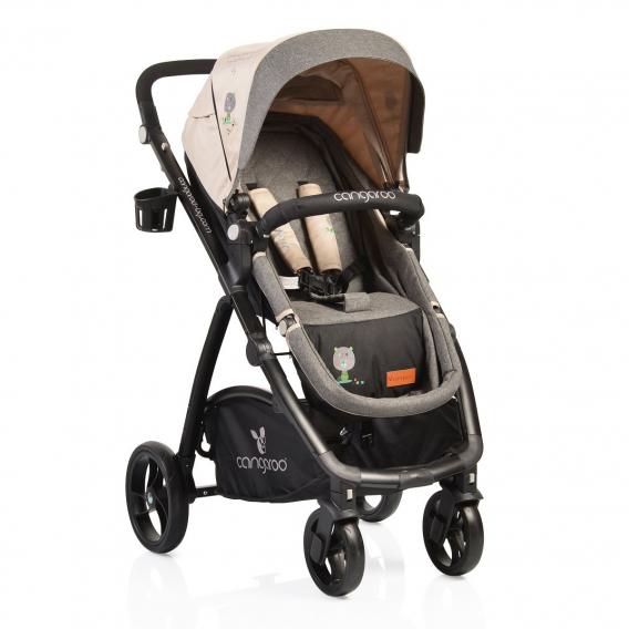 Комбинирана детска количка STEFANIE 3 в 1 CANGAROO 6609