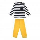 Памучна пижама от 2 части за момче NINI 68749