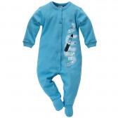 Памучен гащеризон с дълъг ръкав за бебе момче Pinokio 690