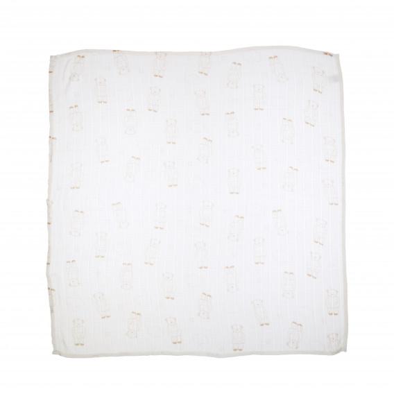 Памучна пелена за бебе 75x75 см. Pinokio 69055 2