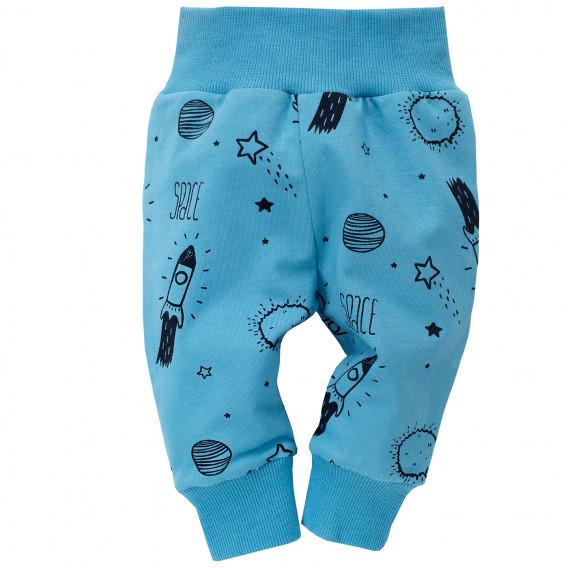Памучен панталон за бебе момче Pinokio 698