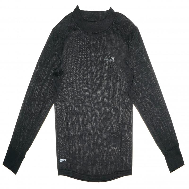 Wanabee черна блуза с дълъг ръкав за момче  69873