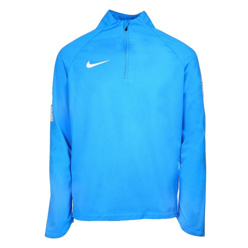 Спортно горнище за обличане през глава за момче, синьо  69895