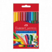 CONNECTOR ФЛУМАСТЕРИ 10 ЦВЯТА Faber Castell 70388