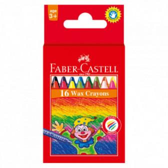 ВОСЪЧНИ ПАСТЕЛИ 16 ЦВЯТА Faber Castell 70405