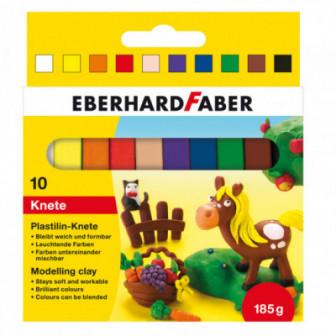 ПЛАСТИЛИН 10 ЦВЯТА Eberhard Faber 70459