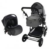 Комбинирана детска количка FONTANA 3 в 1 с швейцарска конструкция и дизайн ZIZITO 71939 3