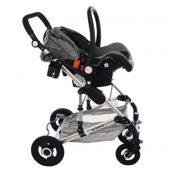 Комбинирана детска количка FONTANA 3 в 1 с швейцарска конструкция и дизайн ZIZITO 71941 5