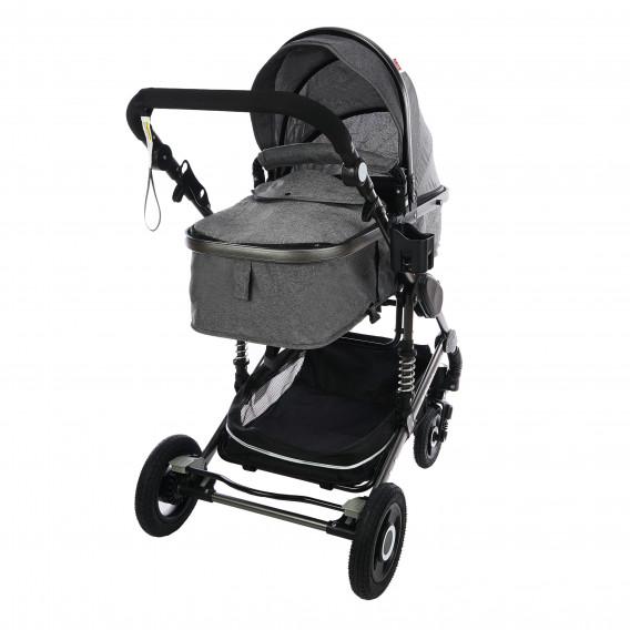Комбинирана детска количка FONTANA 3 в 1 с швейцарска конструкция и дизайн ZIZITO 71949 2