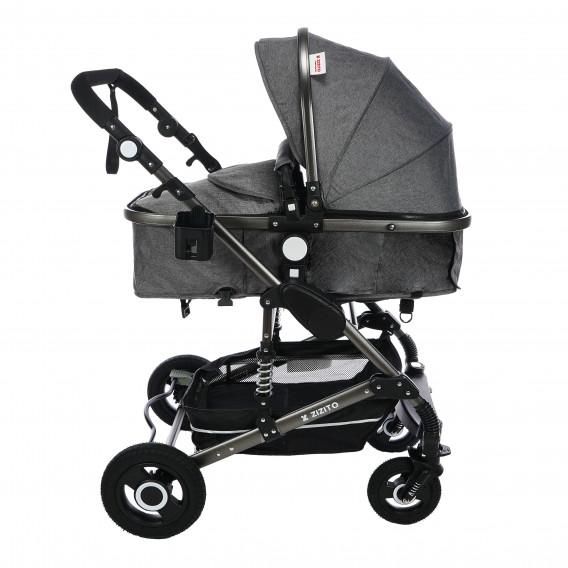Комбинирана детска количка FONTANA 3 в 1 с швейцарска конструкция и дизайн ZIZITO 71950 13