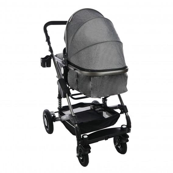 Комбинирана детска количка FONTANA 3 в 1 с швейцарска конструкция и дизайн ZIZITO 71952 15