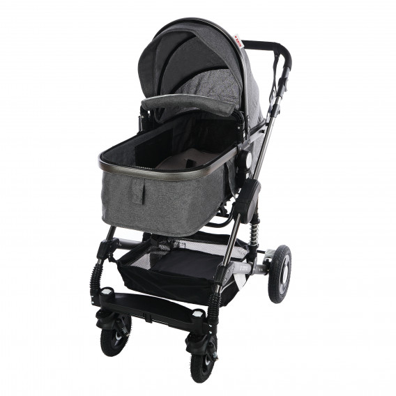Комбинирана детска количка FONTANA 3 в 1 с швейцарска конструкция и дизайн ZIZITO 71953 16
