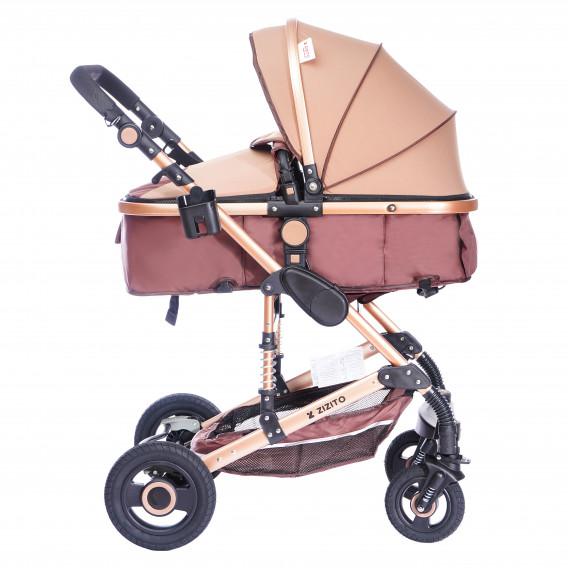 Комбинирана детска количка FONTANA 3 в 1 с швейцарска конструкция и дизайн ZIZITO 71984 3