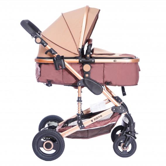 Комбинирана детска количка FONTANA 3 в 1 с швейцарска конструкция и дизайн ZIZITO 71985 4