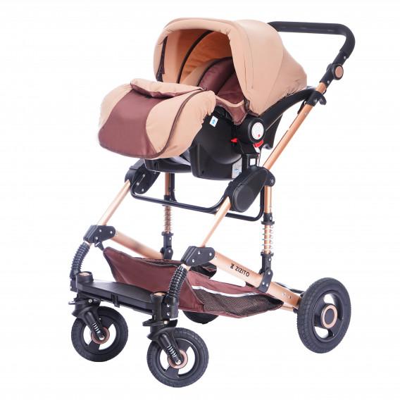 Комбинирана детска количка FONTANA 3 в 1 с швейцарска конструкция и дизайн ZIZITO 71990 8
