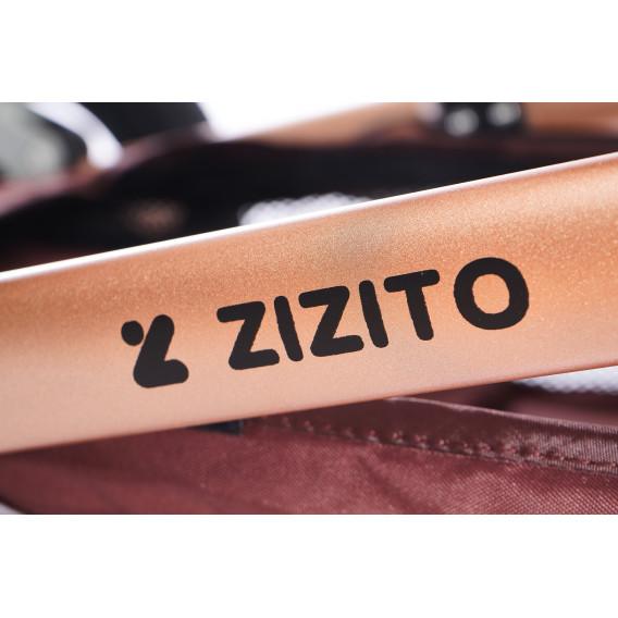 Комбинирана детска количка FONTANA 3 в 1 с швейцарска конструкция и дизайн ZIZITO 71994 12