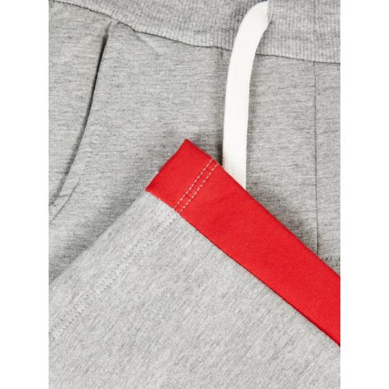 Памучен спортен панталон унисекс Name it 72714 5