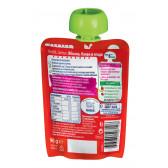 Ябълка, банан и ягоди Nestle Gerber, 6+ месеца, пауч 90 гр. Nestle 73052 2