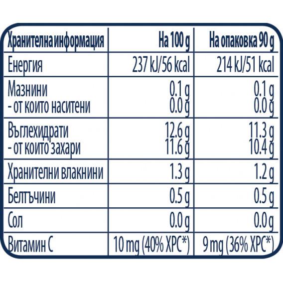 Ябълка, банан и ягоди Nestle Gerber, 6+ месеца, пауч 90 гр. Nestle 73053 3