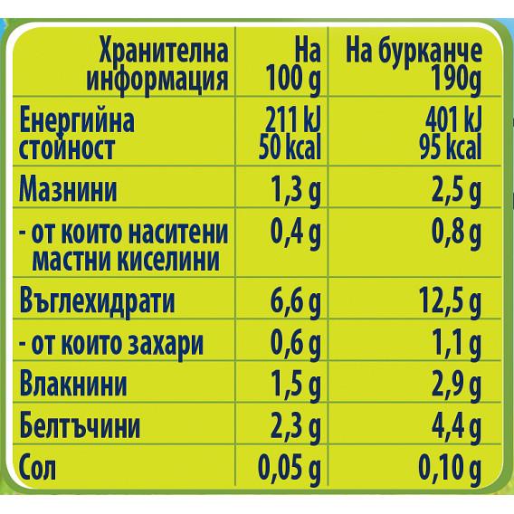 Пюре Супа с пилешко, пуешко и ечемик Nestle Gerber, 9+ месеца, бурканче 190 гр. Nestle 73145 3