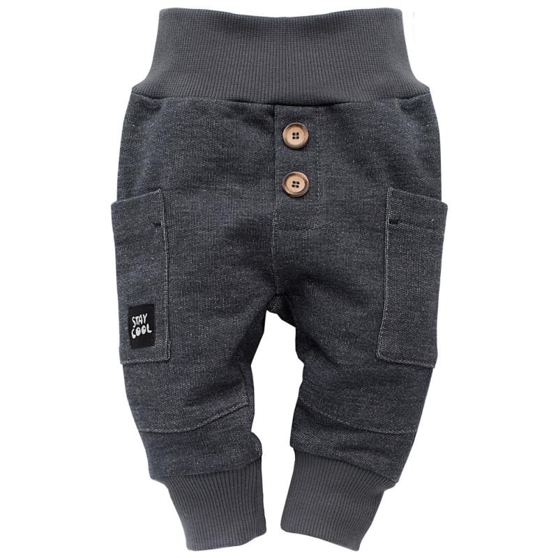 Панталон с декоративни копчета за бебе момче  734