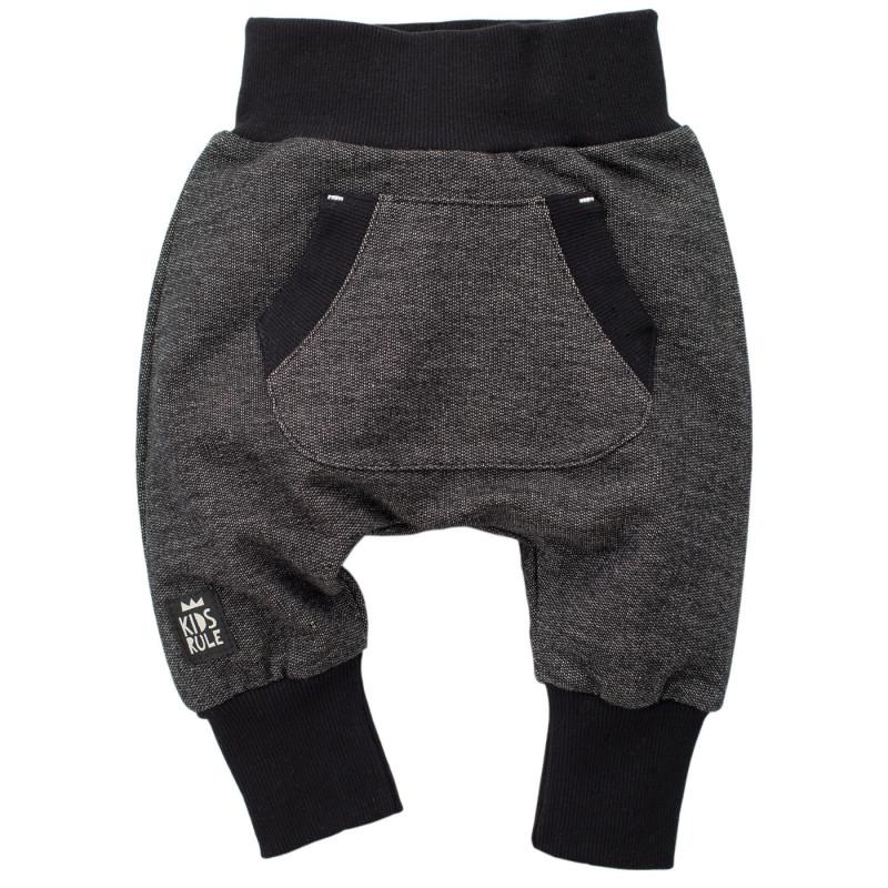 Памучен панталон тип потури за бебе - унисекс  748