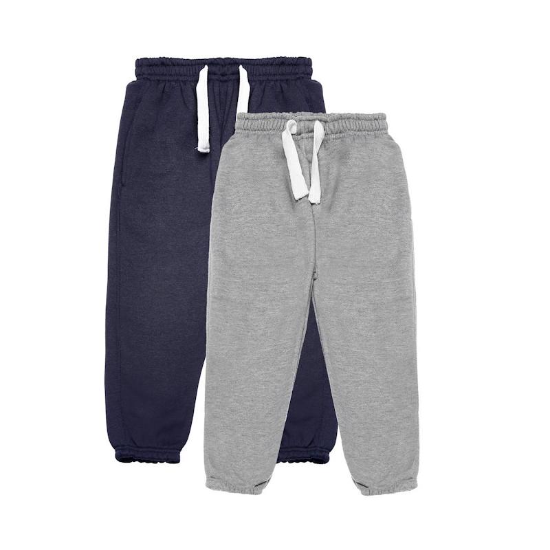 2 броя спортни  панталони, сив и син  77097