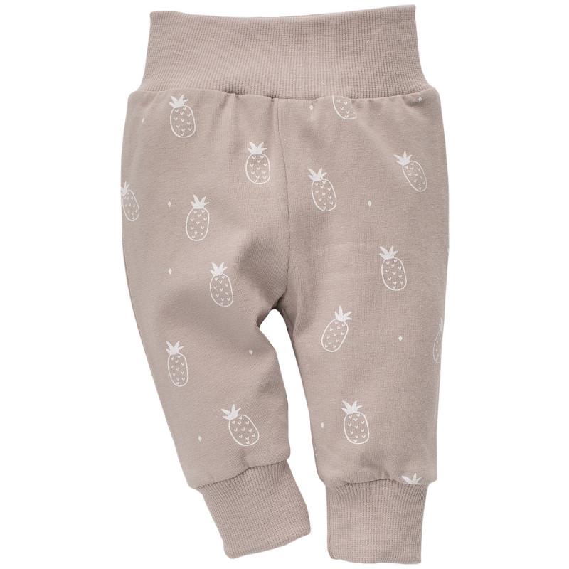 Панталон с принт от ананаси за бебе - унисекс  773