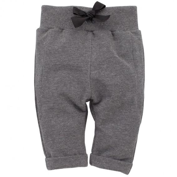 Памучен панталон с широк ластик за бебе момиче Pinokio 783