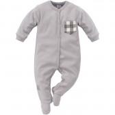 Памучен гащеризон с дълъг ръкав за бебе момче Pinokio 794