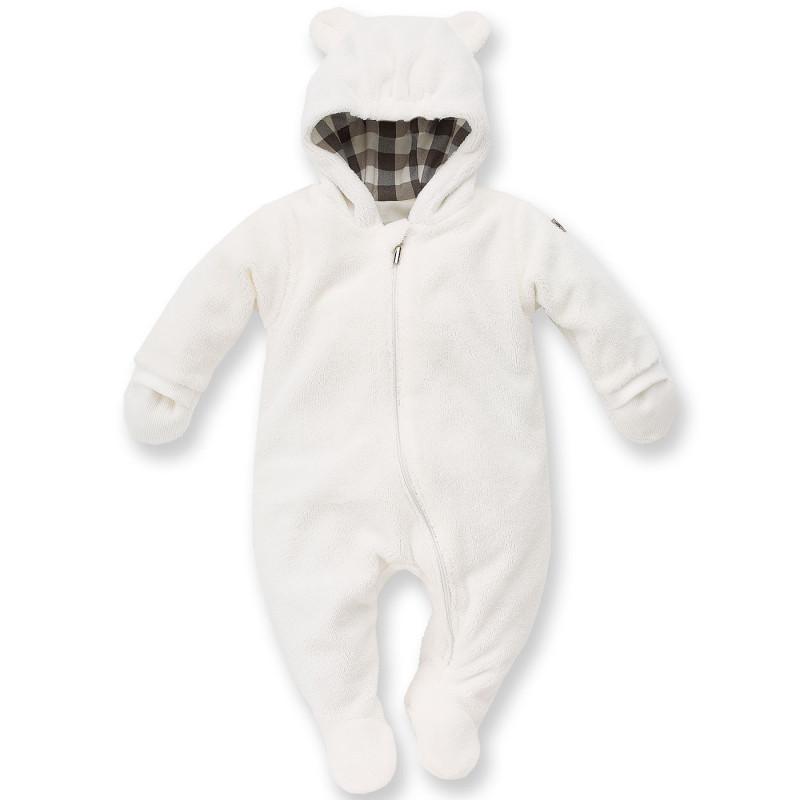 Космонавт с качулка и ръкавички за бебе - унисекс  795