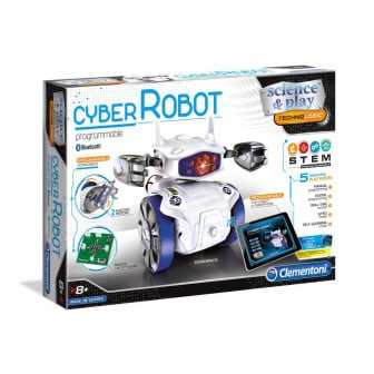Робот cyber за програмиране CLEMENTONI 8086